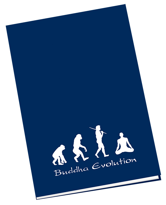 "Notizbuch ""Buddha Evolution"""